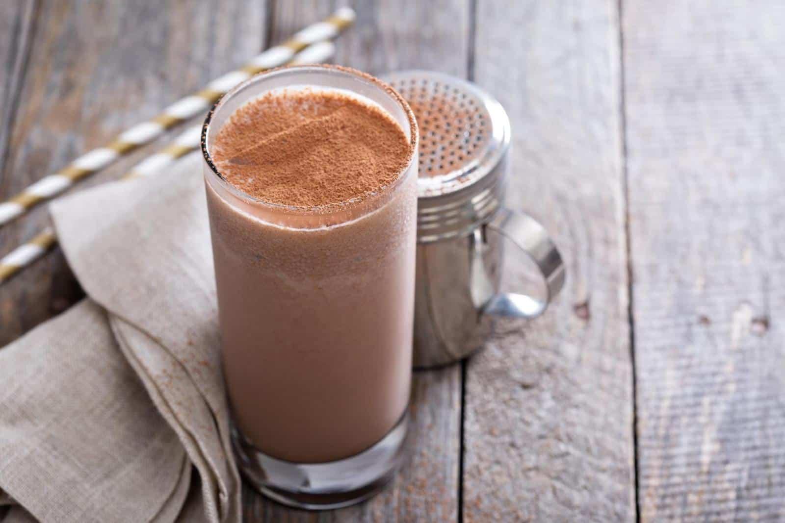 Elemental diet: Chocolate smoothie